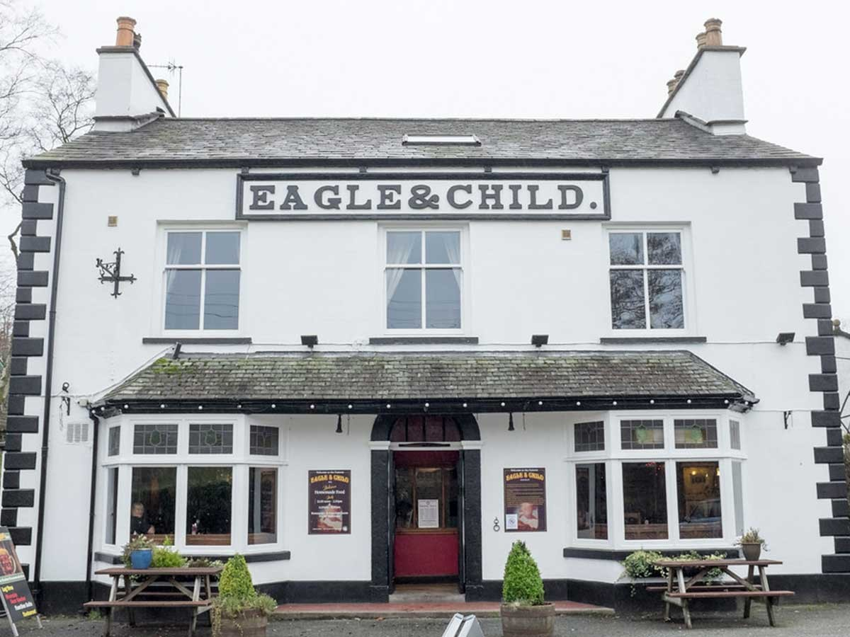 Eagle and Child, Staveley