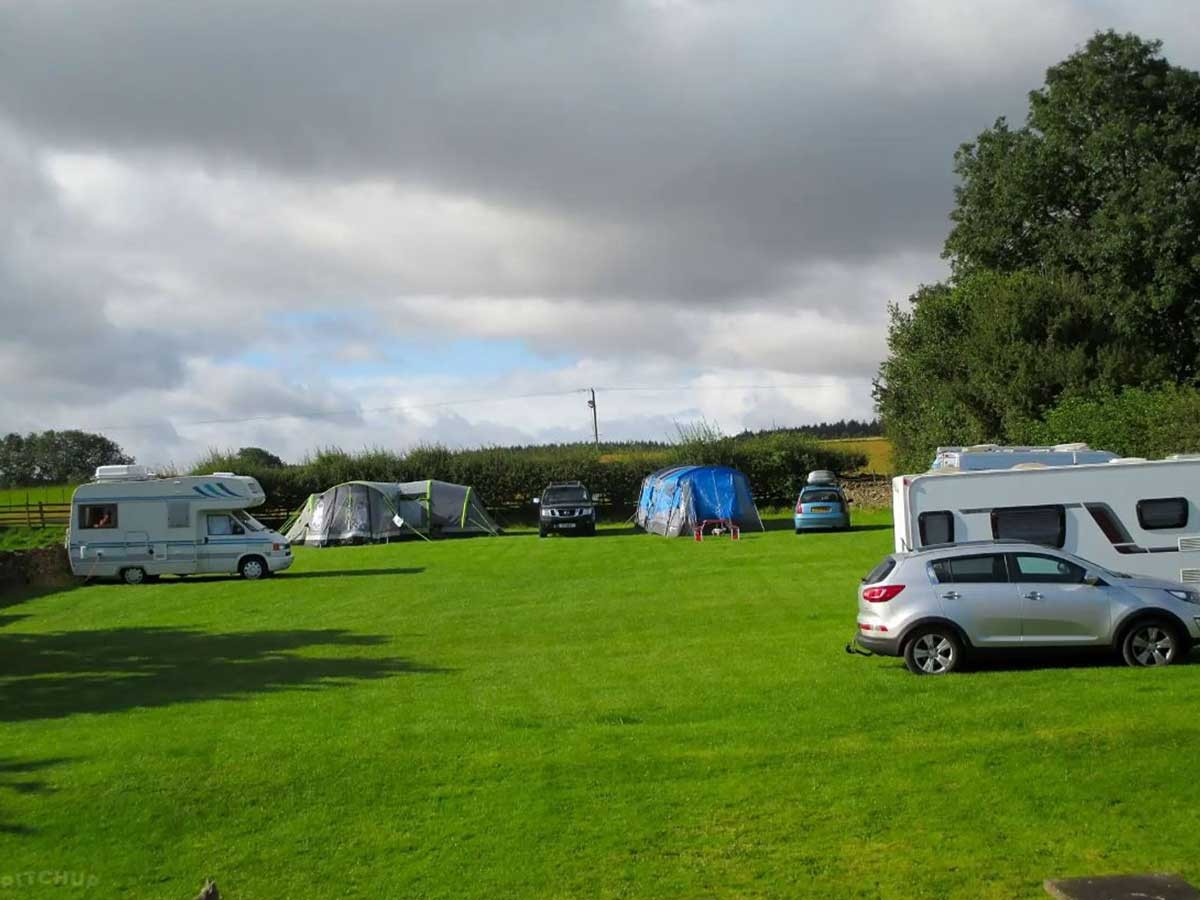 Bungdale Head Farm Campsite, Cold Kirby