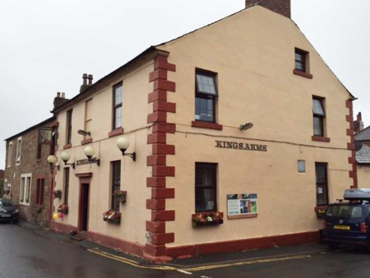 The Kings Arms, Bowness on Solway