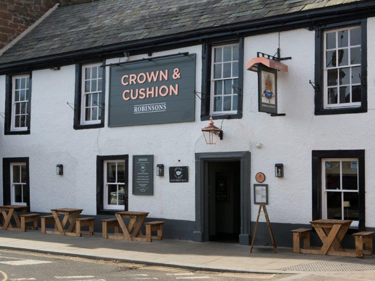 Crown and Cushion Appleby, Appleby-in-Westmorland