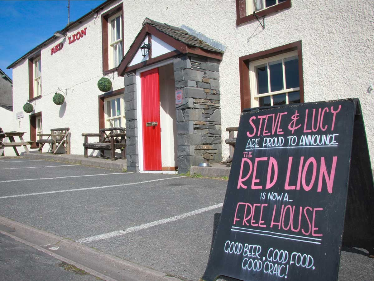 The Red Lion,