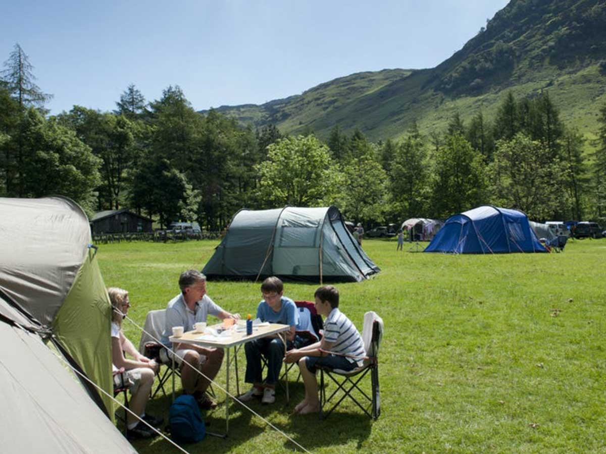 Great Langdale Campsite, Great Langdale