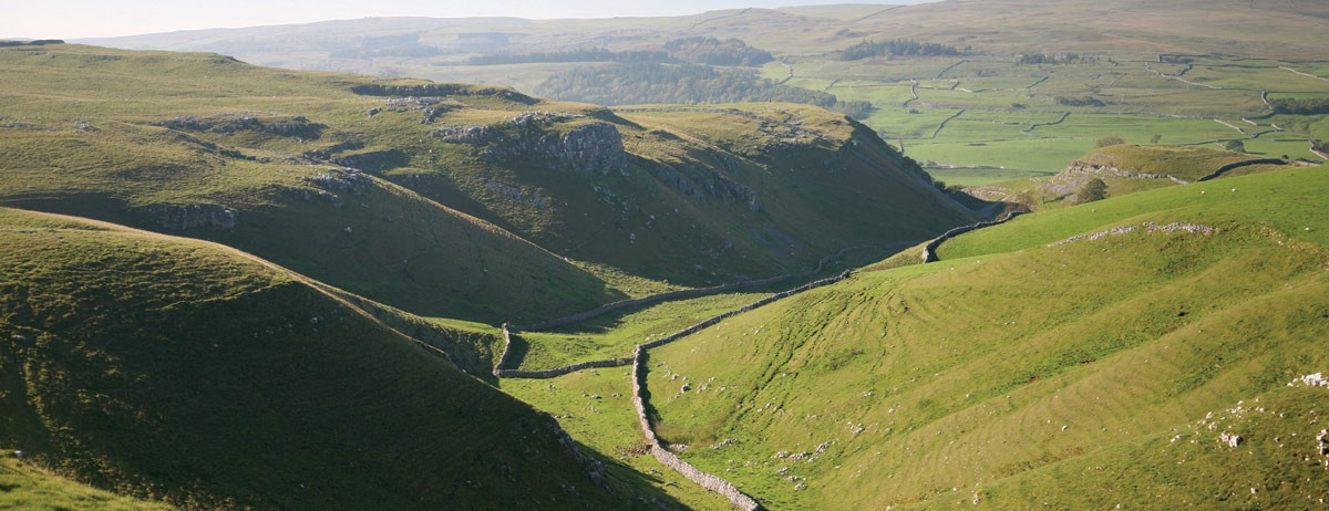 Dales Way Map and Trail Guide for Walkers