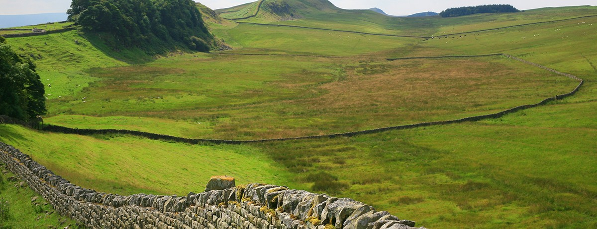 Hadrian's Wall West Map and Trail Guide for Walkers